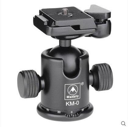 Manbily KM-0 Professionelle Stativ Kopf Aluminium-legierung Kamera Kugelkopf Panoramakopf Gleitschiene Kopf Max Tragfähigkeit 15 kg