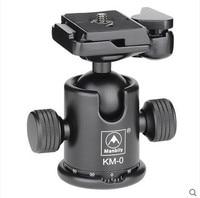 Manbily KM 0 Professional Tripod Head Aluminum Alloy Camera Ball Head Panoramic Head Sliding Rail Head