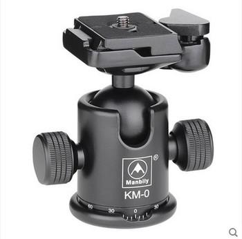 Manbily KM-0 profesjonalny statyw głowica ze stopu aluminium kamera głowica kulowa głowica panoramiczna prowadnica przesuwna głowica Max nośność 15kg tanie i dobre opinie
