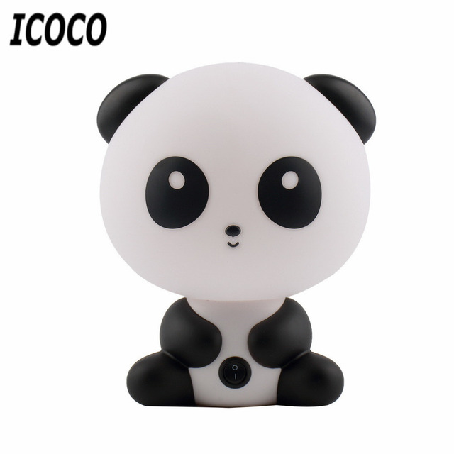 Fabuloso Lampe Lamparas Luminaria Novidade Bonito Panda Animal Dos Desenhos  PK61