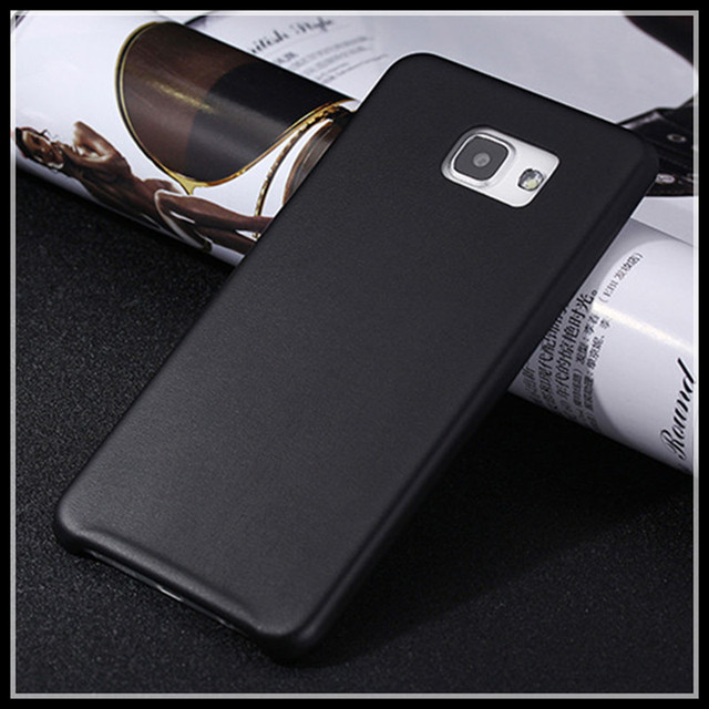 new product a8f5e ed1d0 US $7.9 |Cell phone bag for samsung galaxy A5 2016 a5100 a5108 ultra thin  pu leather back cover black red gold phone housing case a56 on ...