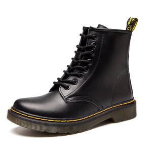 Women Boots Doc Martins 2018 British Dr Martins Vintage Classic Genuine  Martin Boots Female Thick Heel Motorcycle Women s Shoes 5db128e8b156