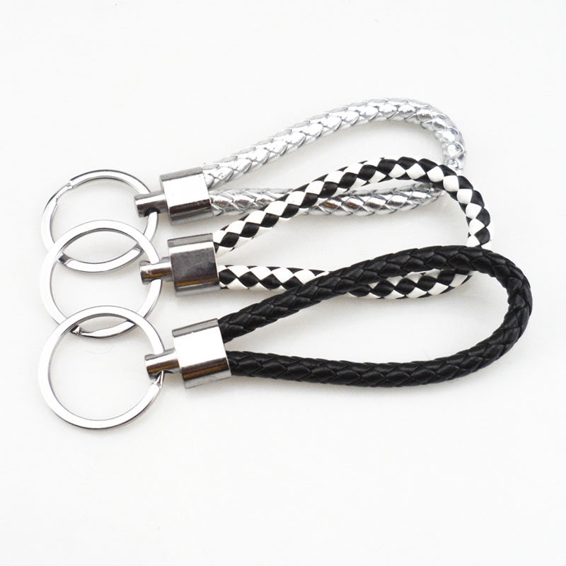 US $1 31 21% OFF|Car accessories Hand made Woven Detachable Key Chains for  Honda Accord Odyssey Crosstour Fit Jazz City Civic JADE Crider-in Key Rings