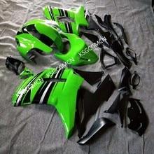 Обтекатель комплект для KAWASAKI Ninja ZX6R 07 08 ZX6R 636 2007 2008 zx6r 07 08 черный зеленый обтекатели-Dor D