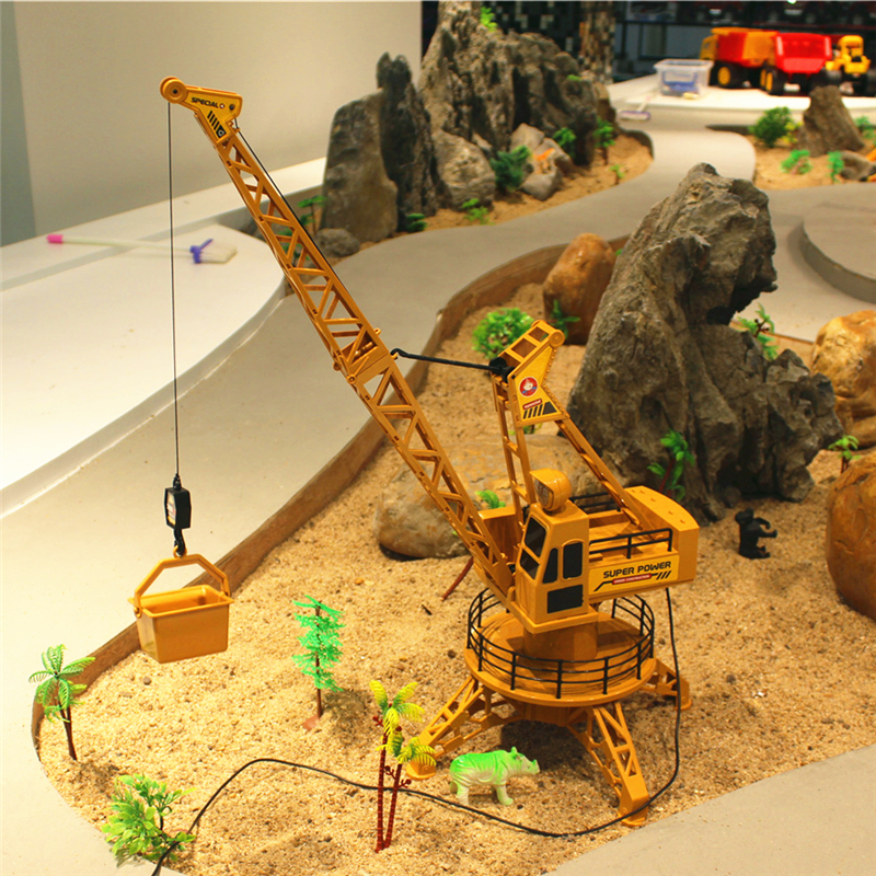 RC Remote Control Simulation Crane construction Toys RC Crane Tower RC Truck Model Toys 360 Degree Rotate Birthday GIfts 6820L цены