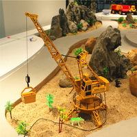 RC Remote Control Simulation Crane construction Toys RC Crane Tower RC Truck Model Toys 360 Degree Rotate Birthday GIfts 6820L