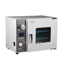 Цифровой вакуумная сушильная камера кабинет 220 V Малый сублимационная сушилка устроило для лаборатории добычи DZF-6020A