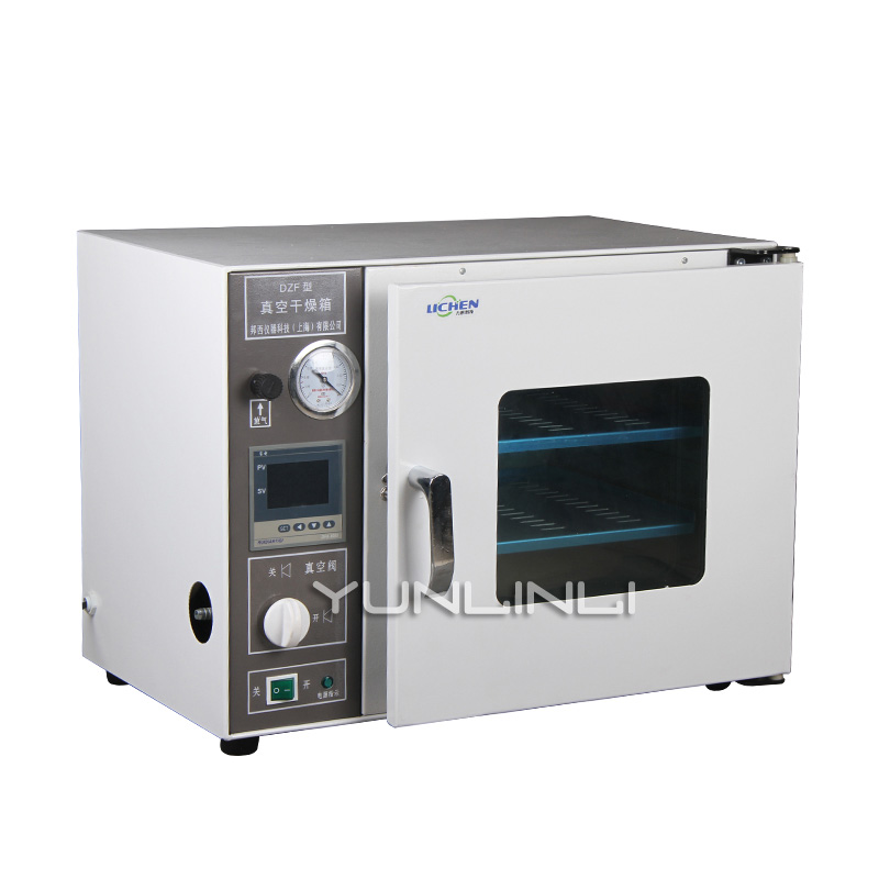 Vacuum Drying Oven 220V 300W Industrial Small Heating Experiment Reserve Box DZF-6020A