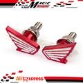 Para Honda CBR 500R CBR600F CB 500F CB600 HORNET VFR CBF VTX guardabarros trasero de la motocicleta Eliminator tornillo tornillo 6 mm rojo