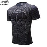 Newest Marvel Superhero Gym Clothing Superman T Shirt Men Women Cartoon 3D T Shirt Funny T