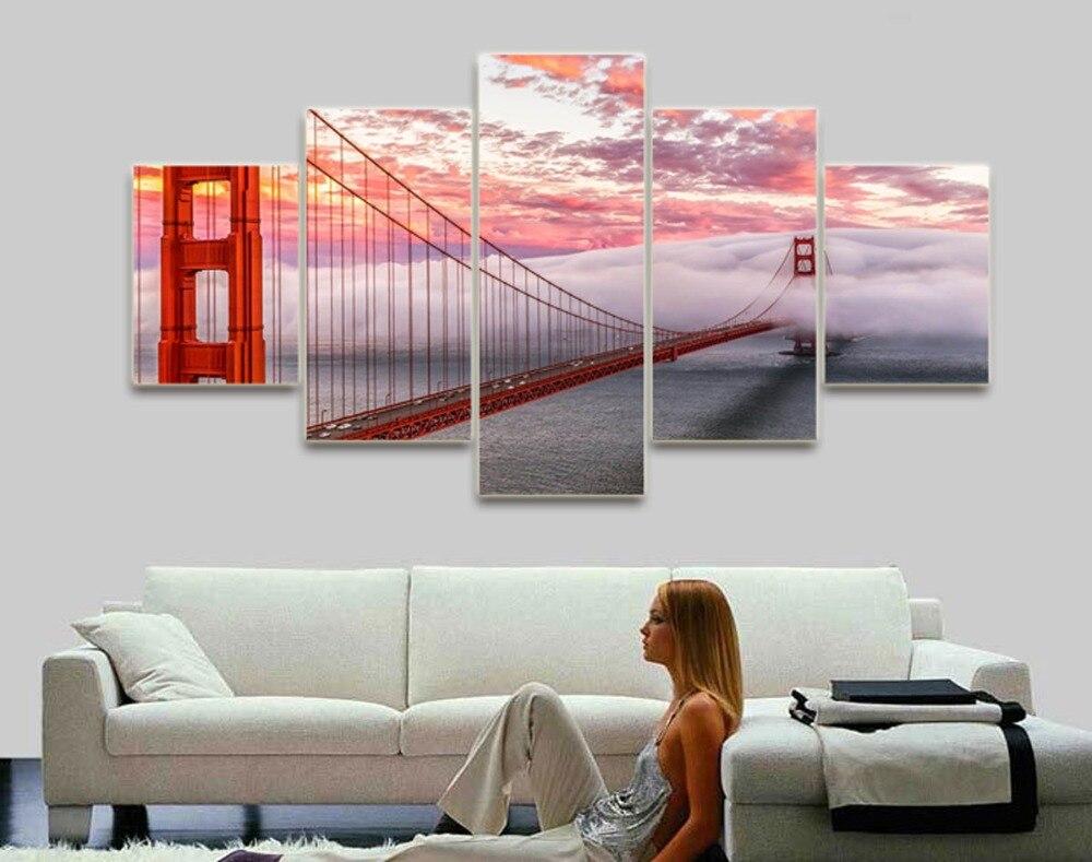 Moderne neue ankunft malerei kein rahmen wohnzimmer home