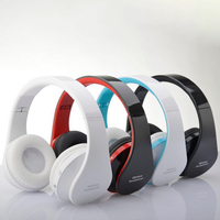 Foldable Audio Bluetooth Handsfree Stereo Wireless Headphones Headset Wireless Earphone For Computer PC Headphone