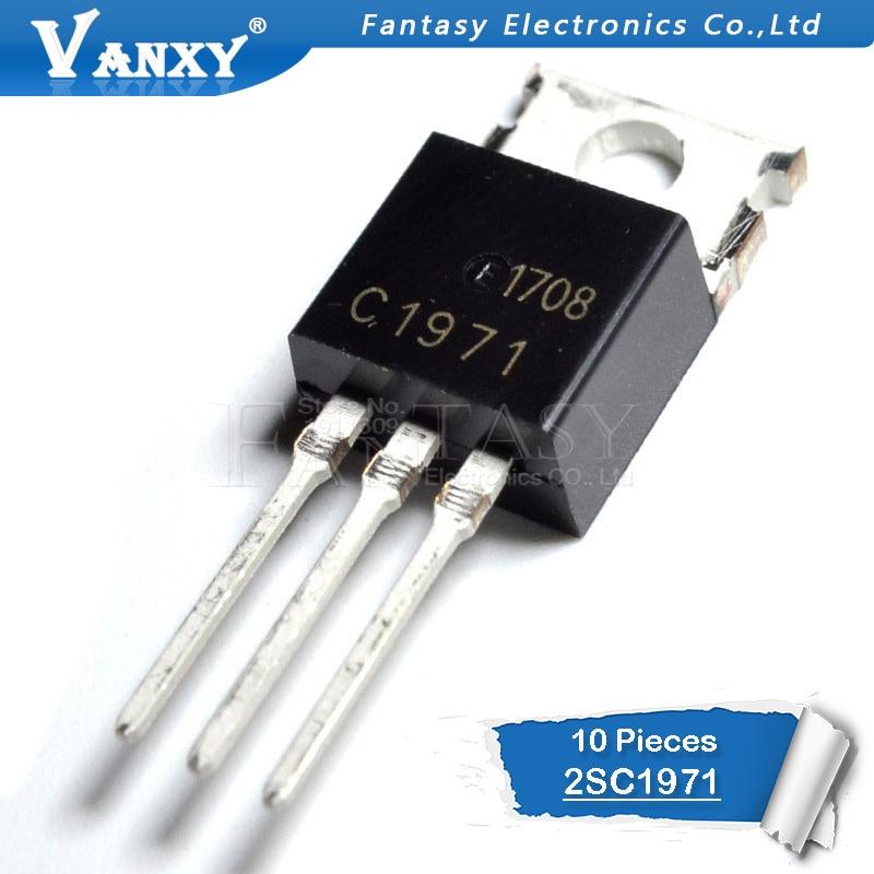 10pcs 2SC1971 TO-220 C1971 TO220