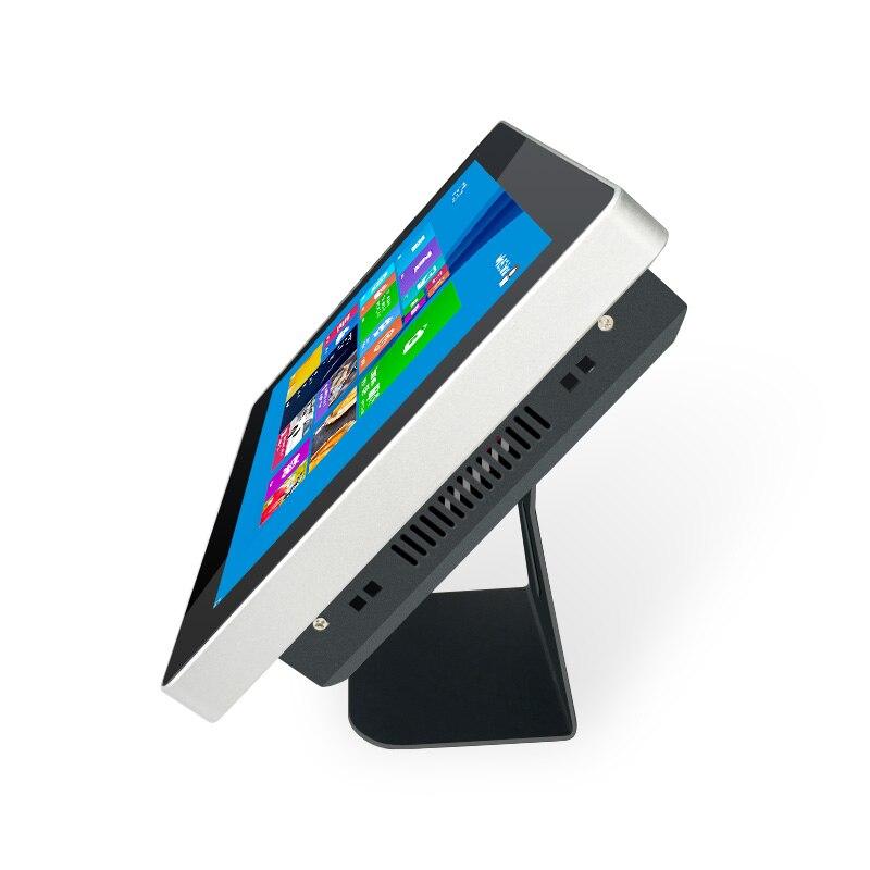Lecteur multimédia de signage numérique de bâti de mur de kiosque d'information d'affichage de la publicité HD lcd d'intérieur de 12 pouces - 5