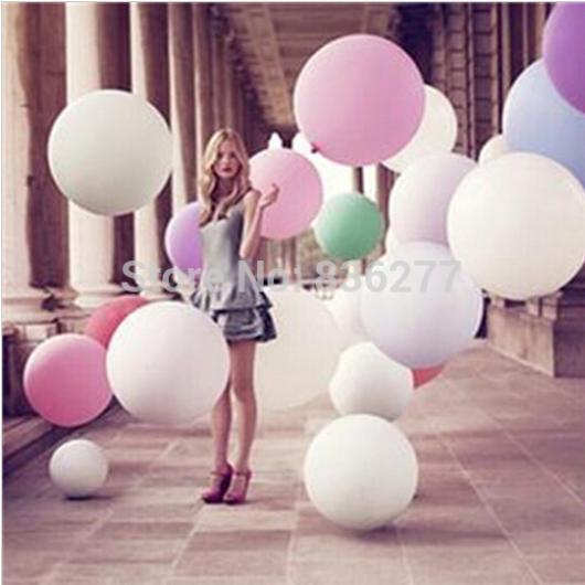 5PC 36inch globos de fiesta Decoración de la boda Globos de látex - Para fiestas y celebraciones - foto 2