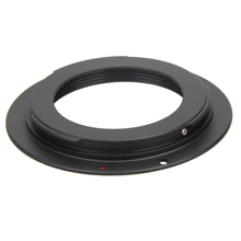 Metal Black Lens Adapter for All Universal M42 Screw Mount Lens for Canon EOS Camera Body Cam Accessories