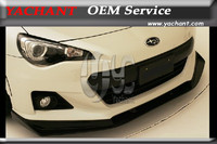 Car Styling Auto Accessories FRP Fiber Glass Front Bumper Lip Fit For 12 16 Toyota BRZ ZC6 GT86 FT86 ZN6 ZP Style Front Lip