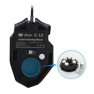 Image 3 - 12 chiave di programmazione mouse Jedi di sopravvivenza pistola senza sedile posteriore macro 4000dpi gaming mouse mouse wired mouse da gioco Con ponderata peso