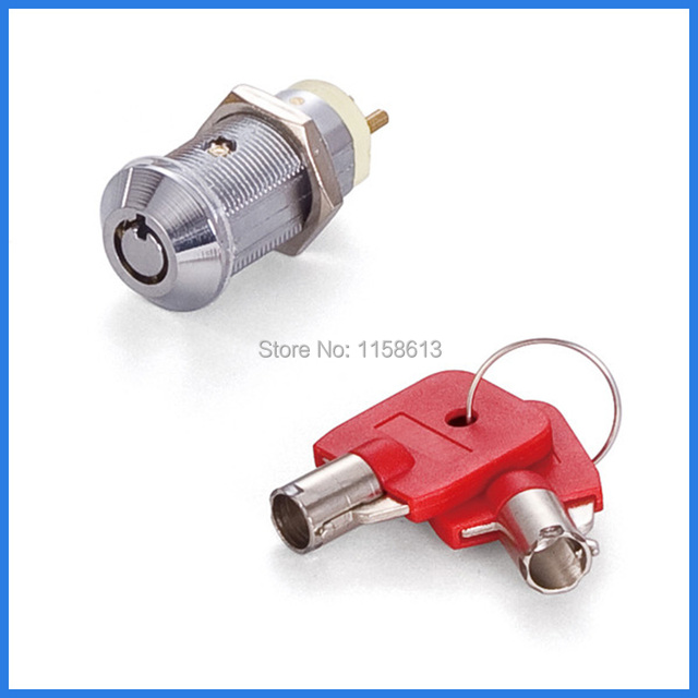 5 Pieces 32mm Widely Used Keyed Alike Round Key Switch Lock Electric
