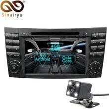 Sinairyu Android 8,0 Octa Core dvd-плеер автомобиля для Mercedes Benz E-Class W211 CLS W219 G-Class мультимедиа Радио стерео Штатная