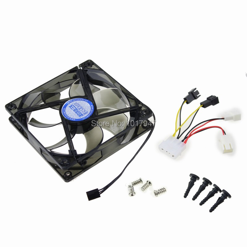 2PCS lot 12V 3Pin 4Pin 120mm 120x25mm Blue LED Chassis Power Supply Computer case Fan new power motorcycle conversion motorcycle fan violence 12cm fan 3 9a 12v tfc1212de 120 120 38mm 2pcs lot
