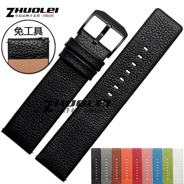 Новые поступления для Fitbit blaze в ремешок fitbit Смарт часы браслет 23 мм 9 видов цвет Натуральной кожи ремешки