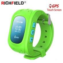 Q50 חכם שעון ילדים GPS שעון ילדי תינוק טלפון שעונים SOS שיחת מיקום Finder Tracker אנטי איבד צג מעורר PK q90 Q02