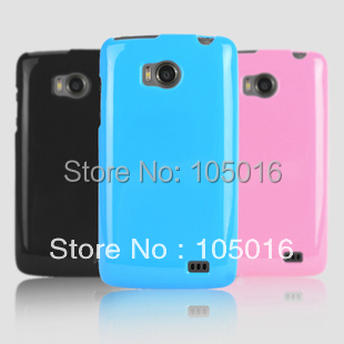 Free shipping 1pc shining TPU GEL  Skin Case cover for Philips W732 mobile phone