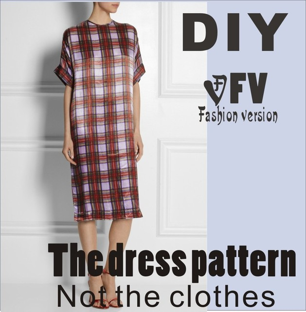 Aliexpress Buy Clothing Diy The Dress Dresses Sewing Pattern