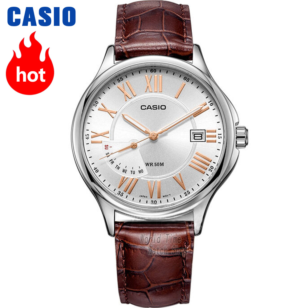 Casio watch pointer series fashion casual business waterproof men's watches MTP-E116L-7A casio watch fashion simple quartz watch mtp 1375l 1a mtp 1375l 7a mtp 1375d 7a mtp 1375d 7a2 mtp 1375l 9a mtp 1375sg 1a