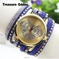 Ladies Watch Love Dial Watches rhinestone wrap bracelet quartz wristwatches women dress watches relogio feminino montre femme