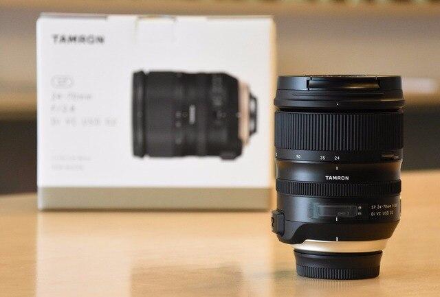 US $988 02 |Tamron SP 24 70mm f/2 8 Di VC USD G2 Lens For Nikon D7500 D7200  D7100 D810 D750 D5600 D5500 D5300 D3400-in Camera Lens from Consumer