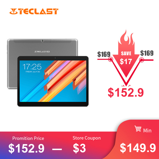 10.1 inch 2560*1600 Tablet PC Teclast M20 MT6797 X23 Deca Core Android 8.0 4GB RAM 64GB ROM Dual 4G Phone Tablets Dual Wifi спот ideal lux titti ap1 rosso