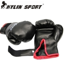 free shipping genuine glove adult paragraph boxing gloves fight gloves fitness gloves fighting training gloves цена