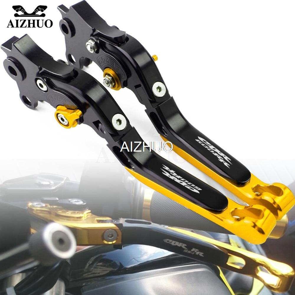 Motorcycle Brake Clutch Lever Folding Extendable For HONDA CBR600RR CBR 600 RR CBR600 RR 2007 2018 2008 2009 2010 2011 2012 2013