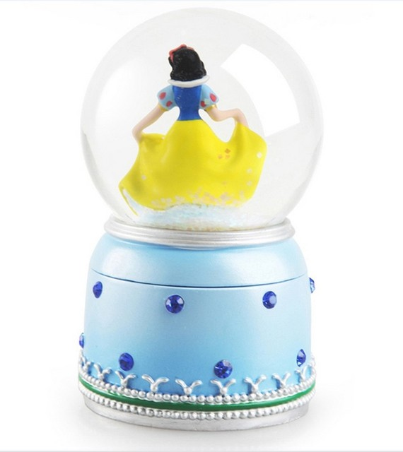 Genuine Crystal Ball Resin Jewelry Box Wedding Gift Holiday Gift For