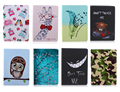 giraffe plum blossom Pu Leather Case For Samsung Galaxy Tab S 8.4 T700 T705 T705C Flip Stand Cover Cases With Card Slots #R