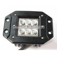Led Working Light 18W Led Search Light For ATV Truck Tractor Led Work Light For 4x4