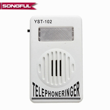 buy ringing telephone and get free shipping on aliexpress com95db extra loud telephone phone ringer phone ring amplifier ringing help strobe light bell sound
