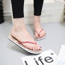 купить Women Beach Flip Flops Flat Slippers Concise Outdoor Ladies Shoes Leisure Indoor Slippers Summer Popular Female Ciabatte Donna по цене 363.64 рублей