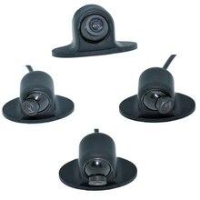 Мини CCD HD ночное видение 360 градусов Автомобильная камера заднего вида фронтальная камера вид спереди боковая камера заднего вида WF