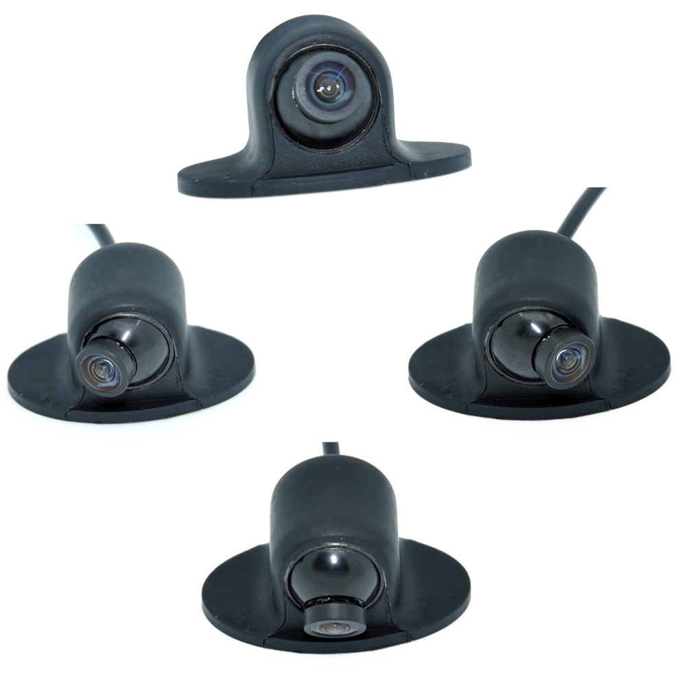 Mini CCD HD Night Vision 360 Degree Car Rear View Camera Front Camera Front View Side Reversing Backup Camera WF
