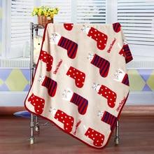 Cartoon Blanket Socks Cat Flannel Small Air Conditioning Room Knee Pet