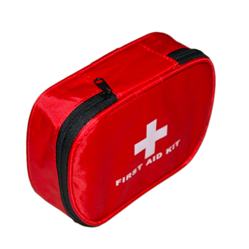 16*11*5cm Outdoor Hiking Sports Travel Camping Home Medical Emergency Rescue First Aid Kit Bag Safty Wholesale