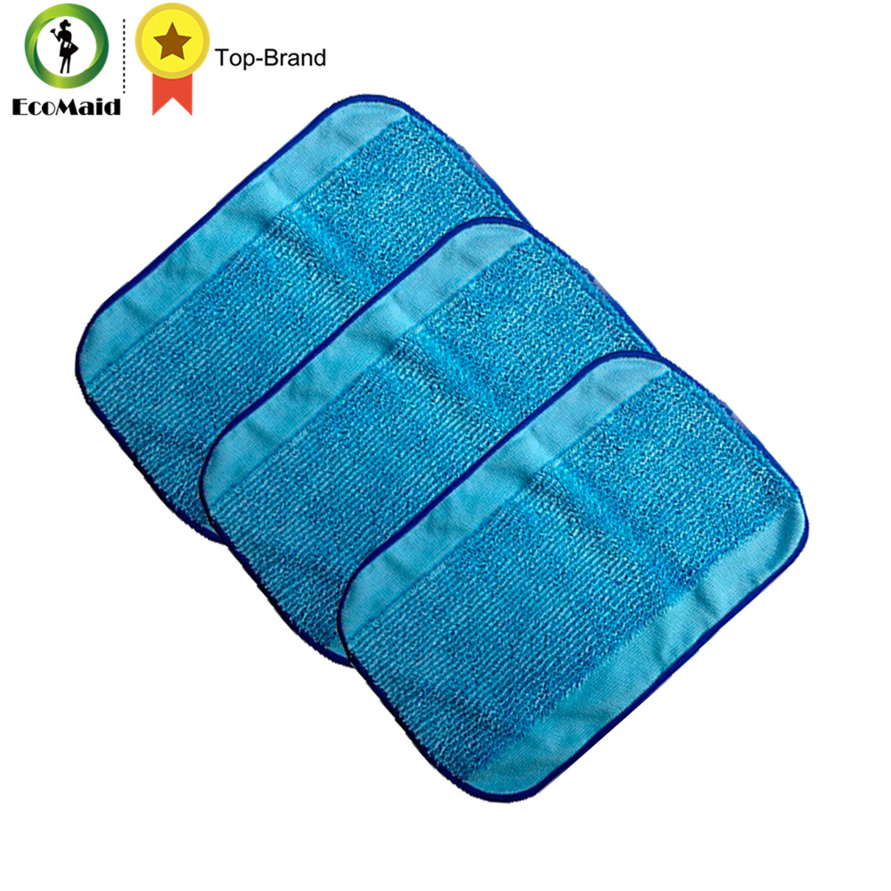 Microfiber Mop 3-Pack Mopping Cloths For irobot Braava Floor Mopping Robot Braava Pro-Clean Reservoir Pad for Braava 380(China)
