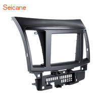 Seicane 2 DIN In Dash Panel Trim Frame Installation Kit Car Stereo Radio Fascia For Mitsubishi Fortis Lancer Face Plate