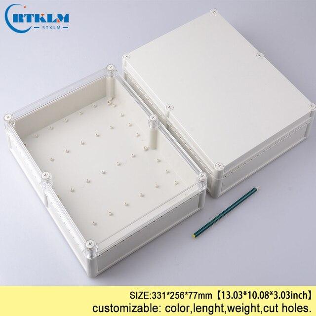 Seal Wire Connectors Plastic Enclosure Diy Ip68 Waterproof Outdoor Electrical Abs Electric Box 331 256 77mm
