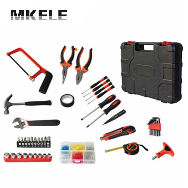 High Quality 82 PCS ET-DZ82 Professional Household-hardware Combination Tool Box Set Kit Packed Square Herramientas Hand high quality screwdriver combination set unique telescopic function