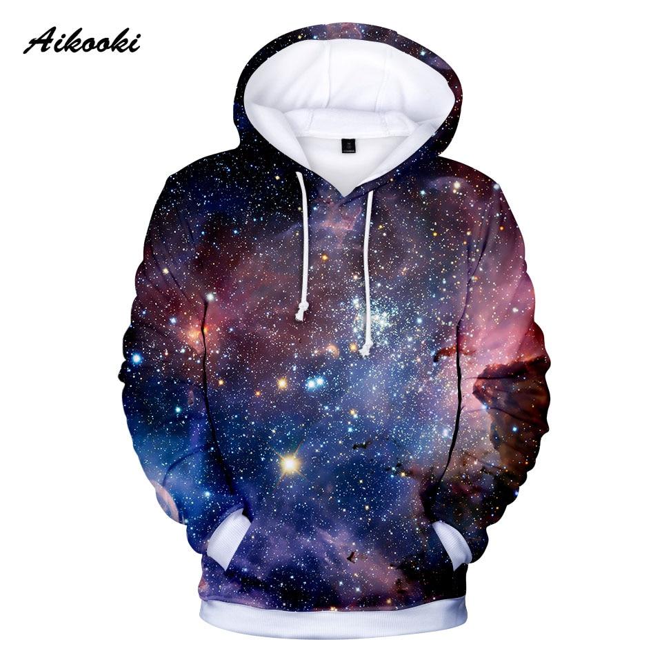 3D Hoodies Cool Print Designs-Space Autumn Purple Galaxy Men/women Clouds Nebula Twelve
