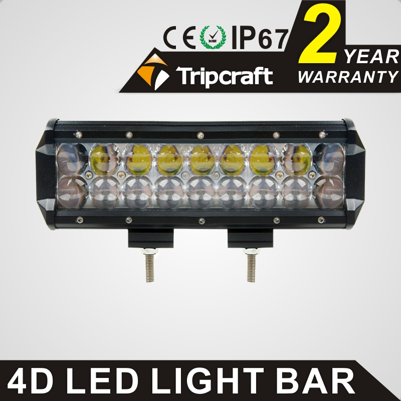 High power 90W 4D  spot flood combo beam LED light bar car lamp for offroad work driving light Tractor Boat 4x4 Truck Fog lamp 1pc 4d led light bar car styling 27w offroad spot flood combo beam 24v driving work lamp for truck suv atv 4x4 4wd round square